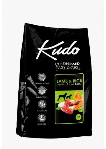KUDO – Medium/maxi, lamb & rice, 12kg