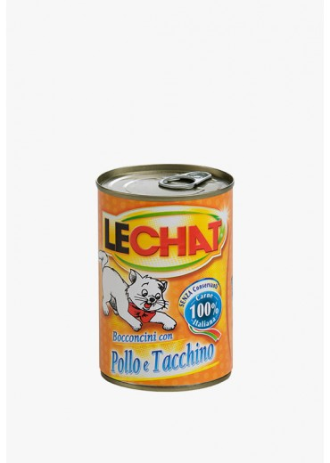 LECHAT - Cat Adult, chicken and turkey, 720g