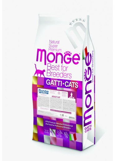 MONGE - CAT, Adult, chicken and rice, 10kg